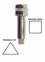 Torque Tip 4.9 Triangle Tip - Square Head