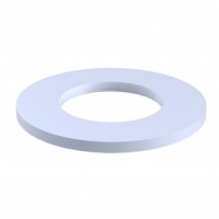 White Spacer Ring - Pack of 10